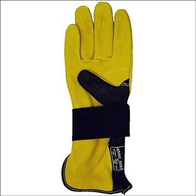Saddlebarn Bullriding Glove Left Hand Gold