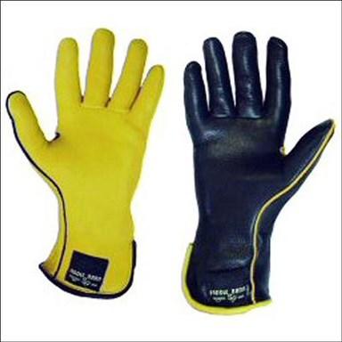 Saddlebarn Superpro Glove Left Hand Gold