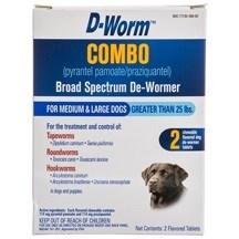 Farnam - D-Worm Combo Broad Spectrum ea.