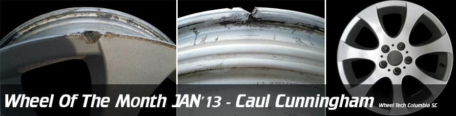 Wheel of the Month Jan '13, Caul Cunningham, Wheel Tech Columbia SC