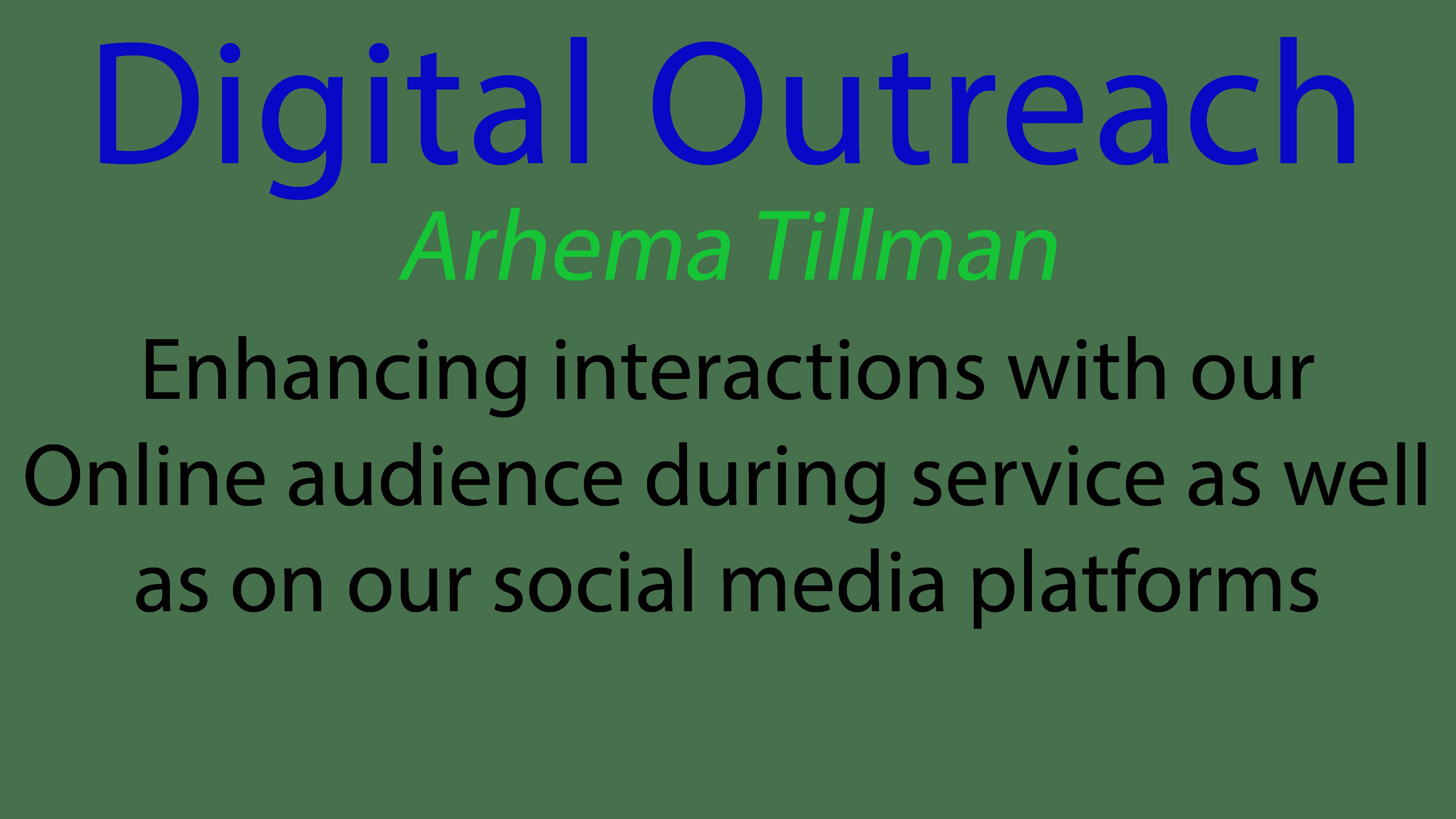 Digital Outreach