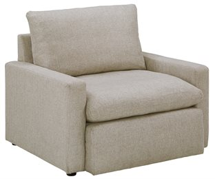 Melilla Upholstered Big Chair Ash