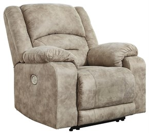 McGinty Power Recliner With Adjustable Headrest Graystone