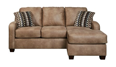 Alturo Upholstered Sofa Chaise Dune