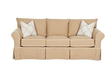 Jenny Large Upholstered Slip Cover Sofa