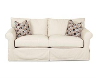 Jenny Upholstered Slip Cover Sofa