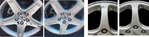 Can Painted Aluminum Wheels Be Repaired