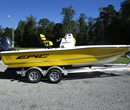 2017 Epic Bay Boat 22 Yellow All Boat