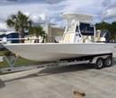 2018 Cape Bay 23 White with Tan Interior All Boat