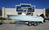 2017 Key West 239 FS Sea Foam Green