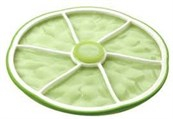 Citrus Stacking Lid Lime Small