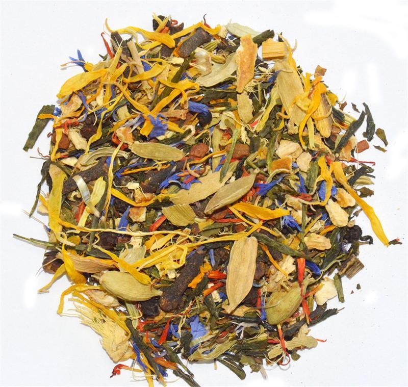 Carolina Coffee Reiki Blend Healing Herbs & Green Tea