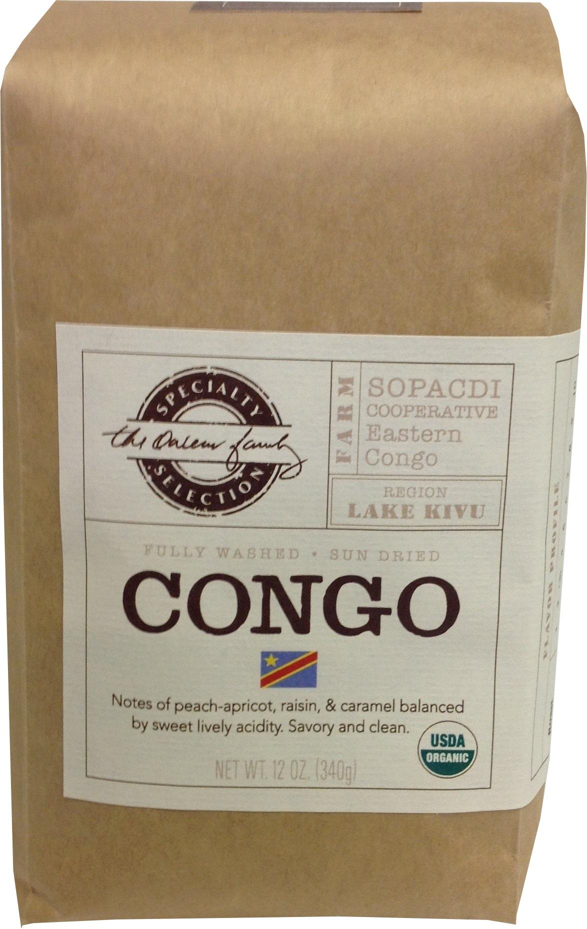 Carolina Coffee Fair Trade Organic Congo