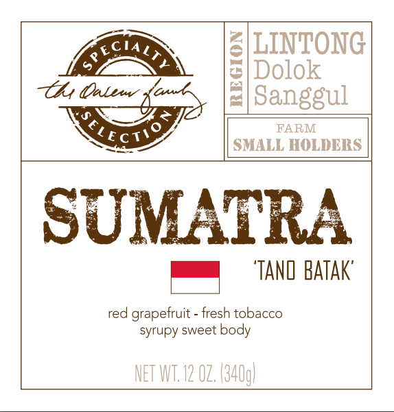 Carolina Coffee Sumatra 'Tano Batak'