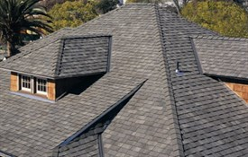 Landmark™ TL Impact Resistant Shingles - Color: Weathered Wood
