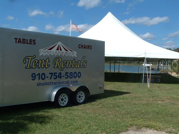 Tent rentals tables and chairs