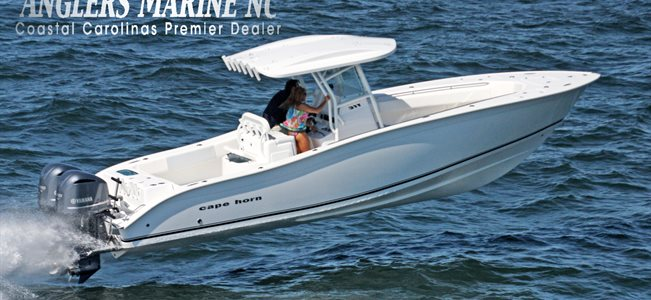 Angler's Marine in Shallotte, NC has a large inventory of new and used Cape Horn boats
