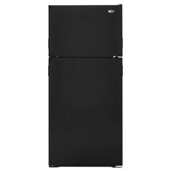 14.4 cu. ft. ADA Compliant Top-Freezer Refrigerator - black