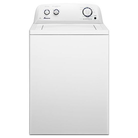 Amana(R) 3.5 cu. ft. Top-Load Washer with Porcelain Tub - White