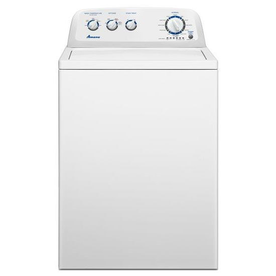 3.8 cu. ft. HE Top Load Washer with Energy and Water Savings - white