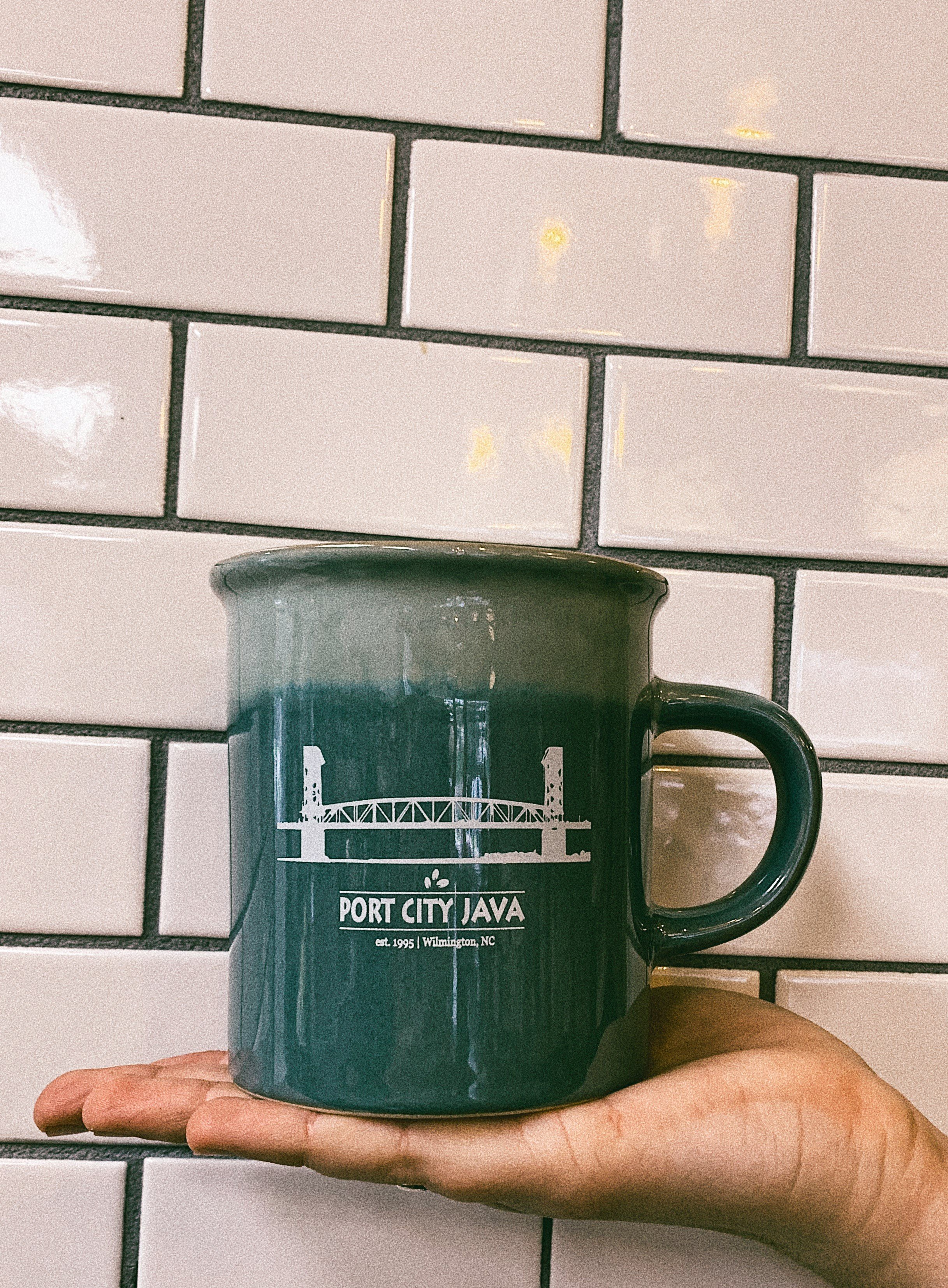Green Desk Mug