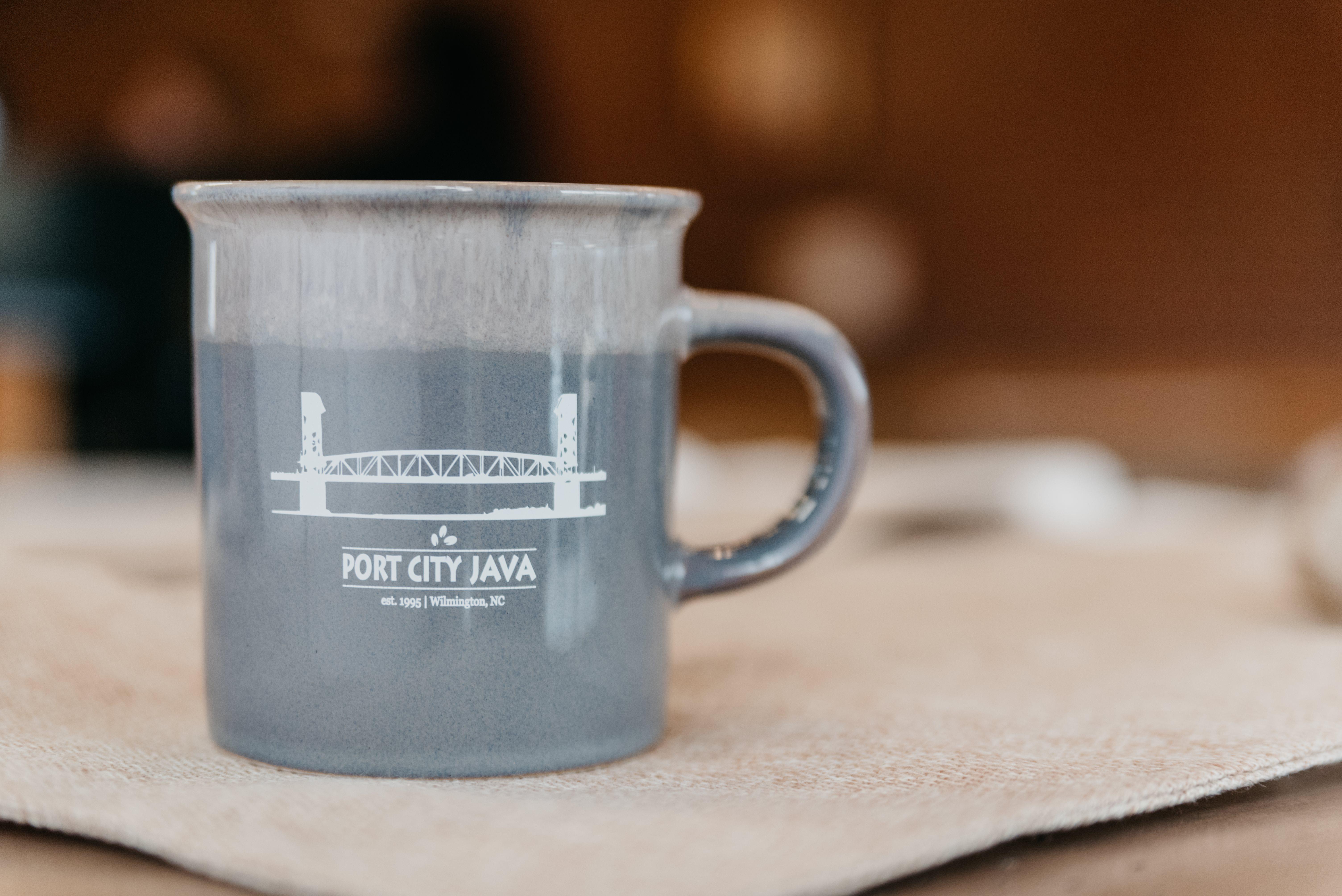 Gray Desk Mug