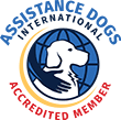 Assistance Dogs International Accreddited Member Logo