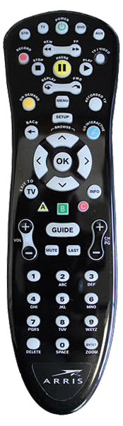 Arris MXv4 IR Remote Control