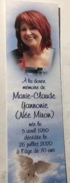Marie-Claude Yannonie