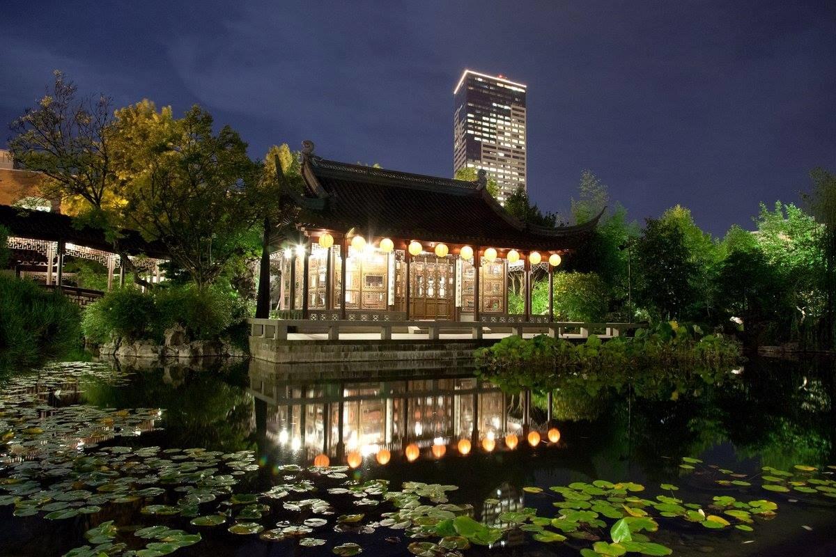 Lan Su Chinese Garden, Portland, OR Wedding Venue