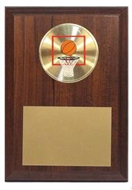PBMM 4 x 6 Basketball Plaque