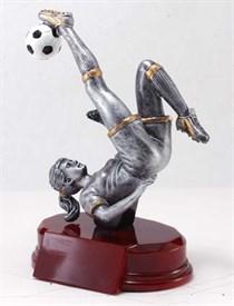 CAT-9 - Female Soccer Resin Figure