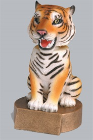 BHC - Tiger American Bobblehead Mascot