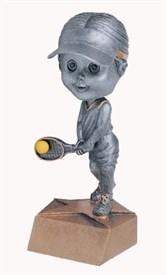 BH-6 - Female Tennis Bobblehead Figure