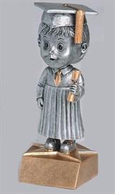 BH-6 - Male Graduation Bobblehead Figure