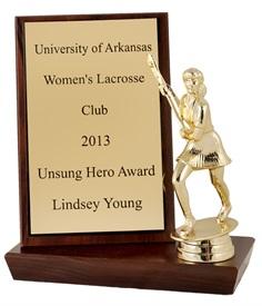 RH-7 inch Lacrosse Trophy