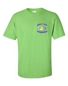 100% Cotton Lime T-shirt Order due by Wednesday, May 15, 2019
