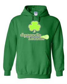 Shamrocks Logo Green Hoodie - Order due by Monday, October 12, 2020