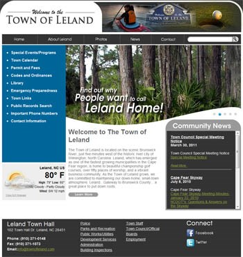 Town of Leland by BlueTone Media