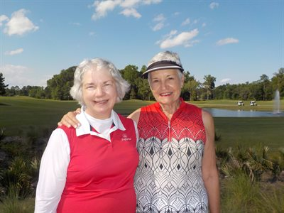 Match Play Flight 3 Winners - Nancy Sain and June Somers