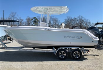 2021 Robalo R222 Explorer Ice Blue/White  Boat