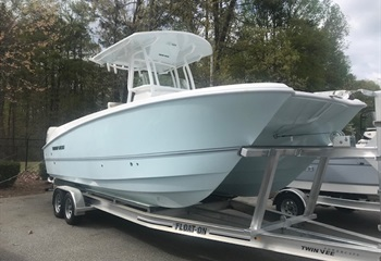 2021 Twin Vee 240 CC Ice Blue  Boat