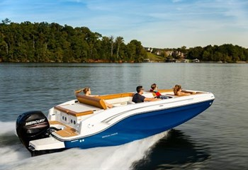 2021 Bayliner DX2000 Blue/White Boat