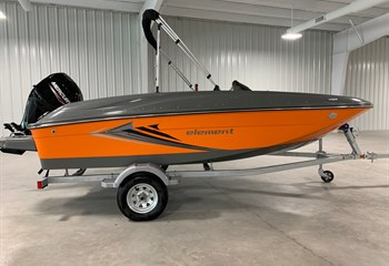 2021 Bayliner Element E16 Orange/Gray Boat