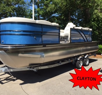 2019 Starcraft Pontoon SLS3 Blue (Clayton) liquid-unknown-field [type] Boat