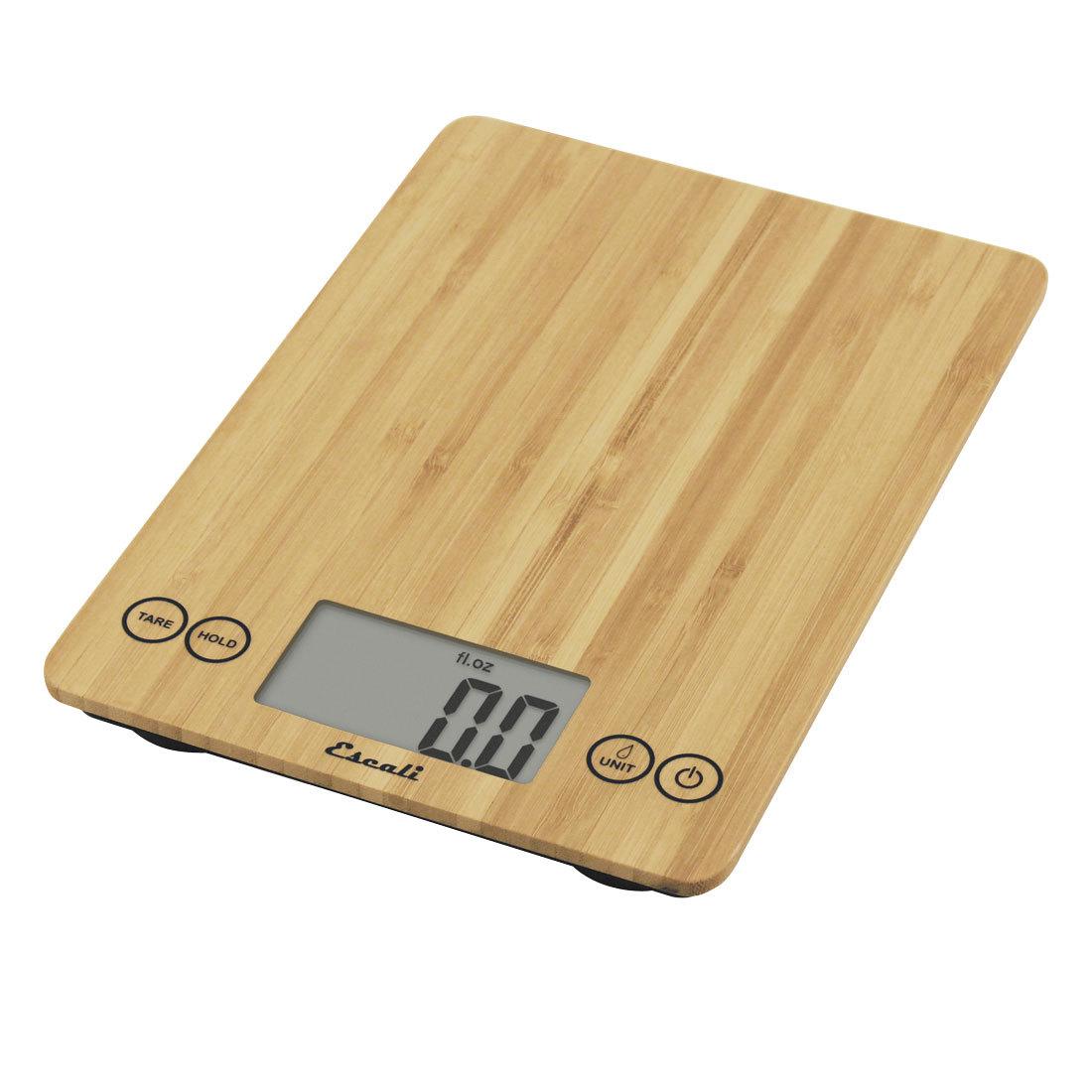 Carolina Coffee Escali Arti Bamboo Scale