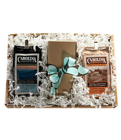 Carolina Coffee Coffee and Biscotti Gift Box