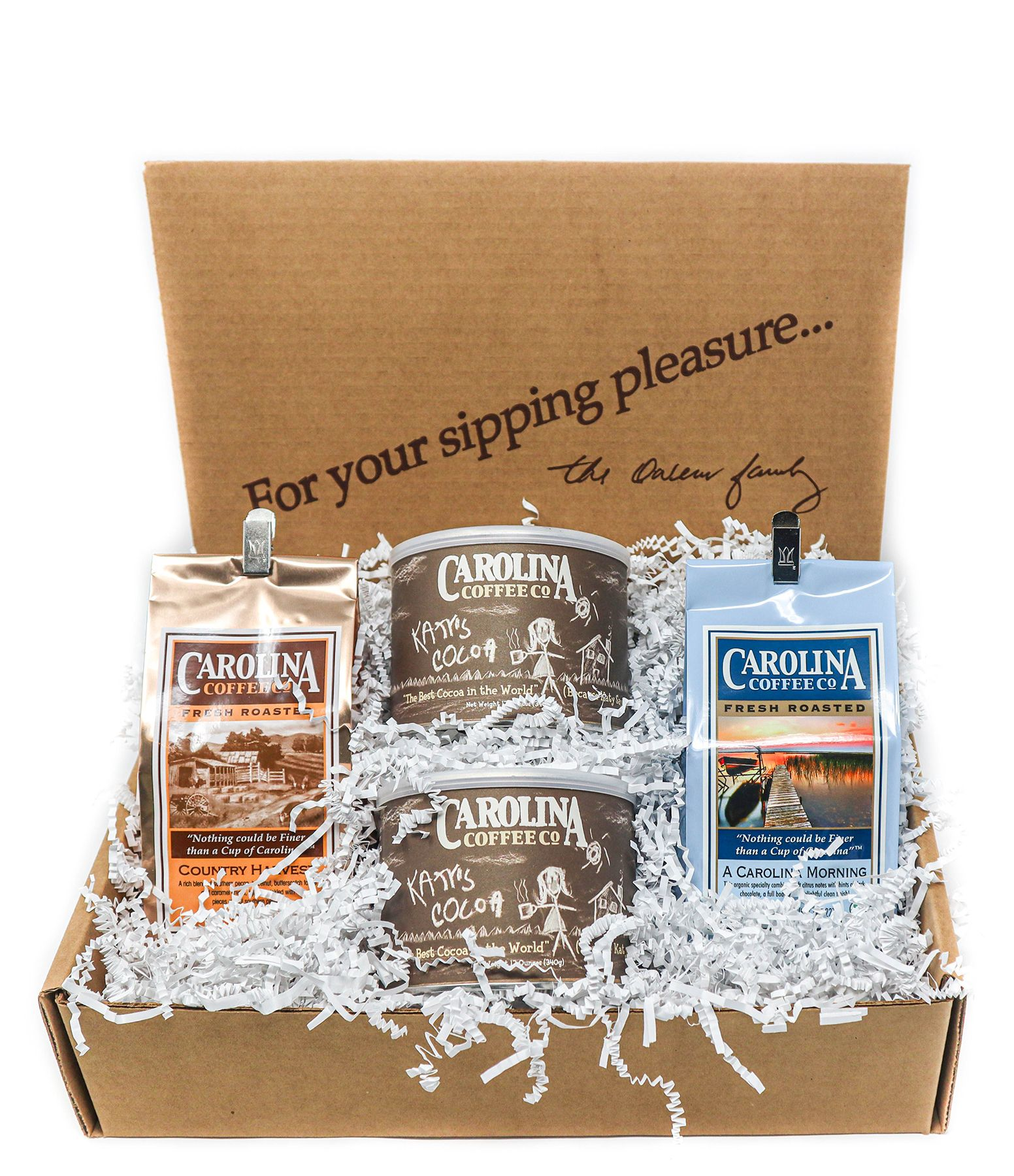 Carolina Coffee Family Sampler