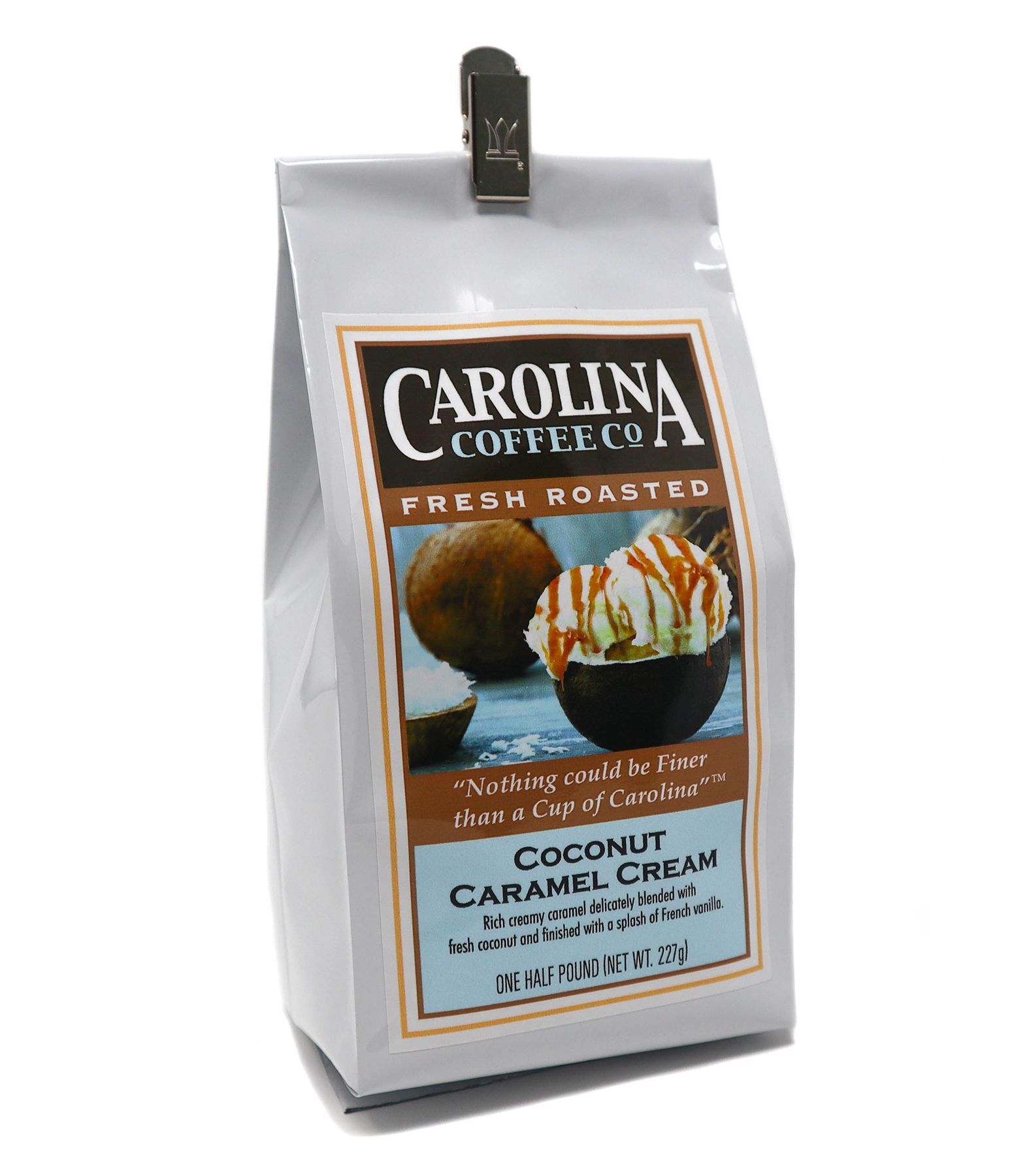 Carolina Coffee Coconut Caramel Cream Swiss Water Decaf