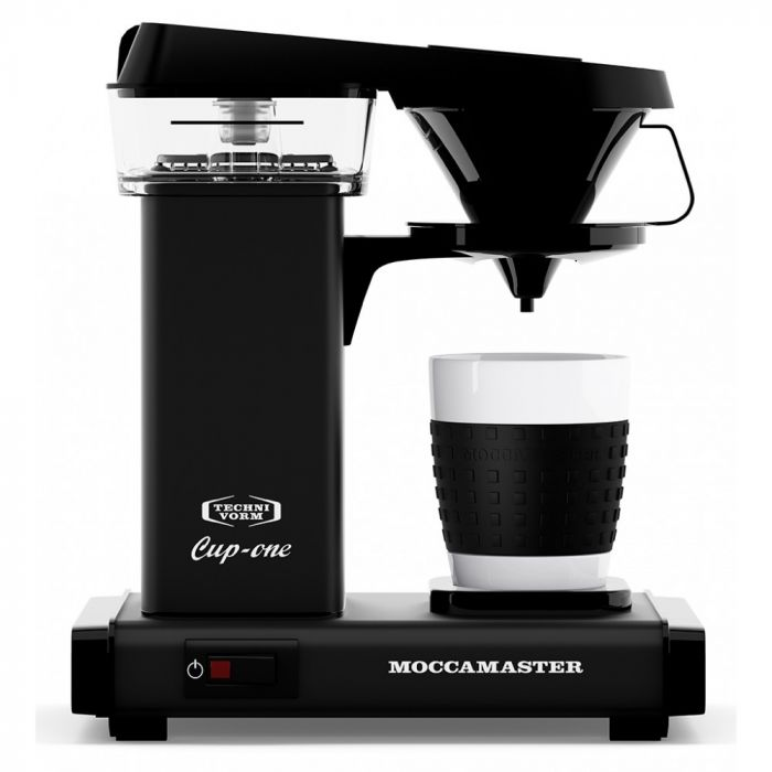 Carolina Coffee Technivorm Moccamaster Cup-One Coffee Brewer - Matte Black